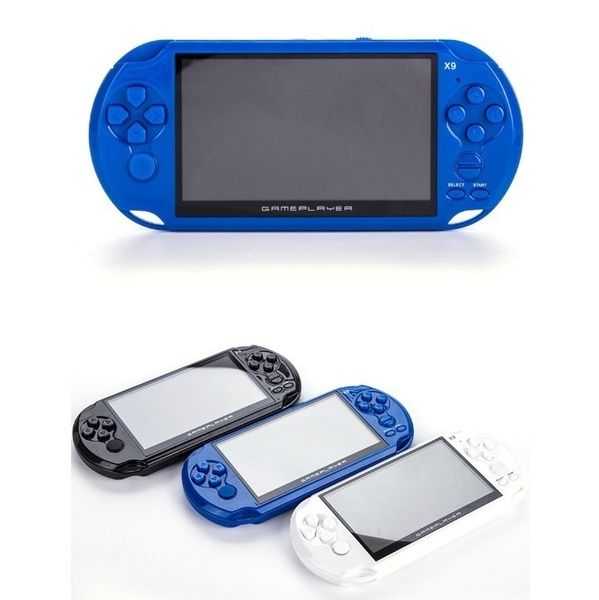 Classic Toys Portable Handheld Video Game Console Player 5.0' 8GB 8Bit 10000 Games Built-In Hot Multicolor