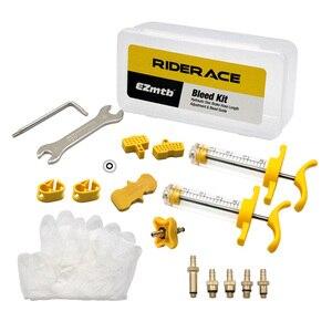 Image 5 - Fahrrad Hydraulische Scheiben Bremse Bleed Kit Für AVID SRAM S4 Bike Blutungen Rand Code Guide RSC R Ebene ULT tlm rot eTap Reparatur Werkzeuge