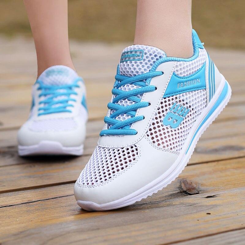 Women Sneakers Fashion Ladies Sneakers Shoes Women Breathable Mesh Women Casual Shoes Platform Casual Shoes Women's Sneakers