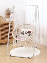 Tassel hanging chair living room indoor homestay home children's cradle cotton rope Nordic ins lazy vibrato net red swing(China)