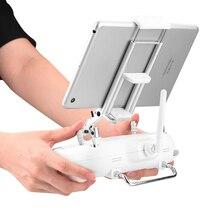 Tablet tutucu braketi DJI Phantom 3 standart için SE 2 görüş fimi 1080P Drone uzaktan kumanda telefon standı montaj