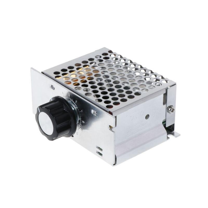 Ac 220v 4000w scr регулятор напряжения диммер высокой мощности
