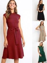 Стрейч вязать вечернее платье для домашней вечеринки кружева платье o-шея-линии Cap рукавом вечернее платье