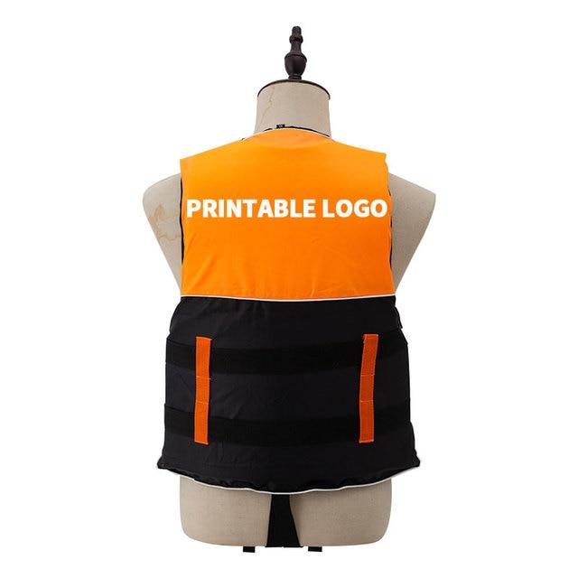 Adult Life Vest with Whistle M-XXXL Sizes Jacket Swimming Boating Ski Drifting Life Vest Water Sports Man kids Jacket Polyeste 2