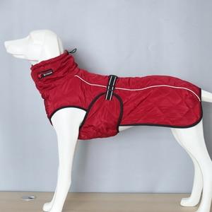 Image 5 - כלב מעיל עמיד למים רעיוני גדול כלב מעיל חורף חם צמר לחיות מחמד מעיל עיבוי בגדי כלב ציוד לחיות מחמד