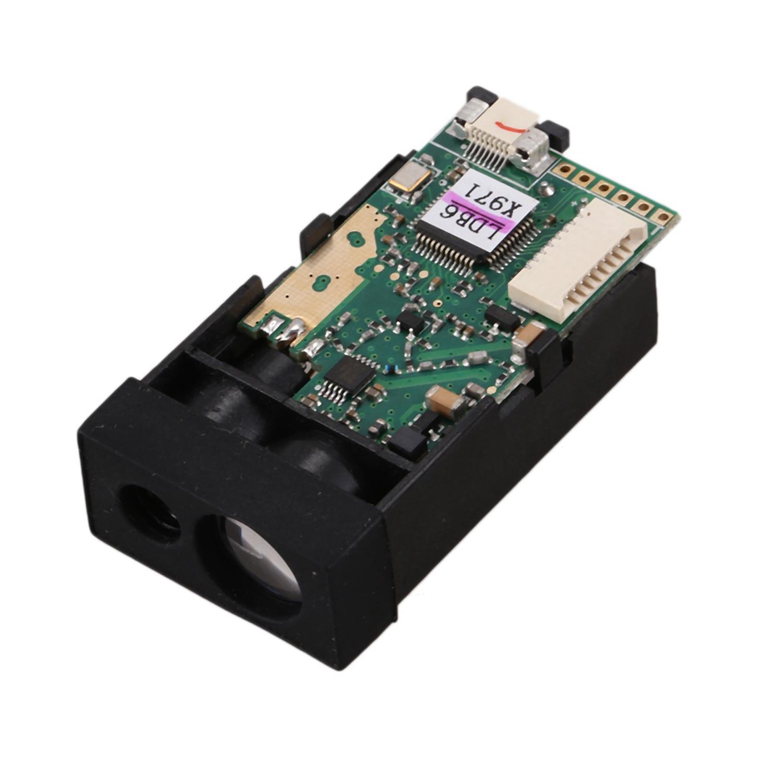50M Distance Measuring Sensor Range Finder Module Single Continuous Measurement Communication TTL Level Sensor