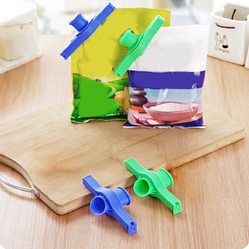 Creative Kitchen Food Clip Small Commodity Sealing Clip Discharge Nozzle Household Food Packaging Bag Sealing Clip image