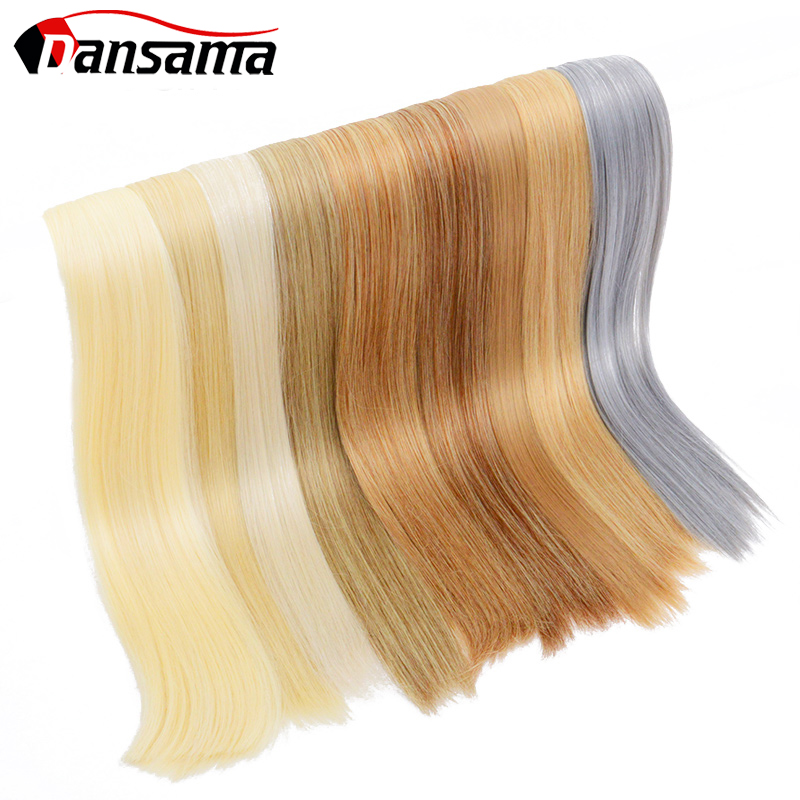 Dansama Tape In Hair Adhensive Silky Straight Natural Hair Extension Synthetic Weaving Double Side 22