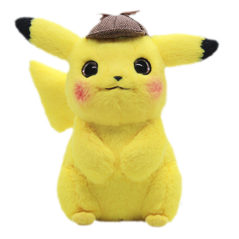 Anime Detective Pikachu Bulbasaur Charmander Charizard Squirtle Snorlax Mewtwo Mew Aipom Plush Toy Children Gift For Children