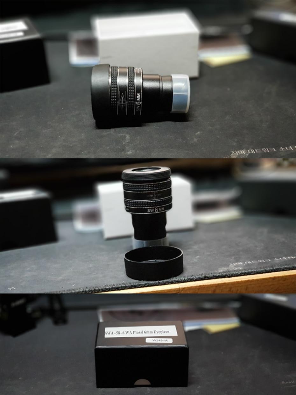 Svbony 1.25 eyeeyeocular swa 58 graus 4mm