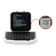 LILYGO®TTGO T นาฬิกาคีย์บอร์ดESP32ชิปหลักโปรแกรมนาฬิกาฮาร์ดแวร์และMINIขยายแป้นพิมพ์