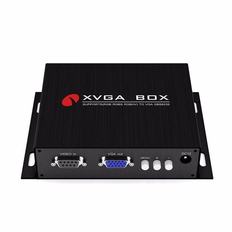 Hot Sale GBS 8239 XVGA Box EGA RGB to VGA Industrial Converter Monitor replace GBS 8219(US Plug)|RGB Controlers| |  - title=