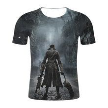 Fashion cool funny t shirt men game BloodBorne 3 3D printed t-shirts casual Harajuku style tshirt streetwear tops 2019 new