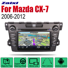 ZaiXi Auto Radio 2 Din Android Car DVD Player For Mazda CX-7 2006~2012 GPS Navigation BT Wifi Map Multimedia system Stereo android 8 car dvd player gps navigation for mazda cx 7 2008 2015 multimedia headunit stereo tape recorder 2 din radio