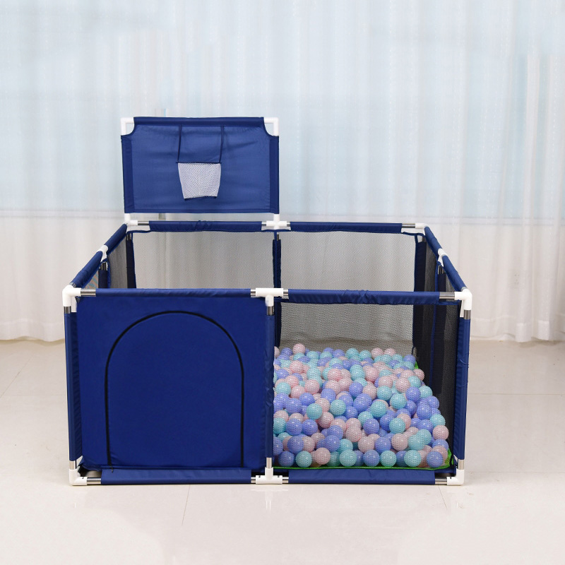 HOT Product Baby Playpen Kids Pool Balls Newborn Baby Fence Square Playpen for Baby Pool Children Safety Barrier Playground 128*128cm