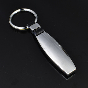 Image 1 - 20X Metall Wasser Tröpfchen Auto Schlüssel Ring Leder Schlüssel Kette Keychain für Sline M sport AMG