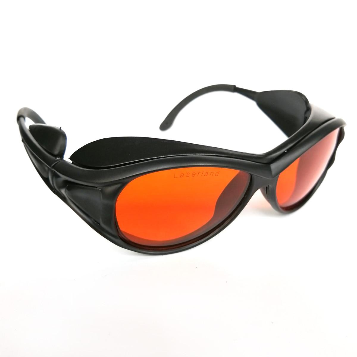 OD4+ UV OD5+ 190-540nm Green Blue Safety Laser Glasses Protective CE T1-2