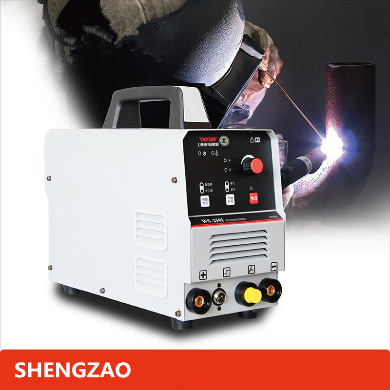 SHENGZAO WS-250I MIG 4,0mm ARC Schweißer MIG LIFT Wig-schweißen Maschine Mig manuelle Schweißer Funktionale AC Gas Kein Gas selbst-Geschirmt