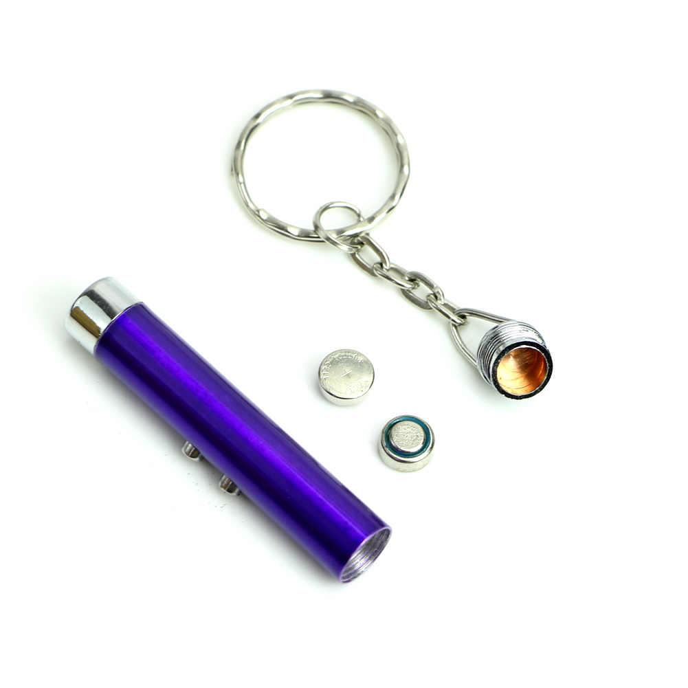 1PC מיני רב פונקצית 2 In1 אדום מצביע לייזר עט עם לבן LED אור חדש ספינת ירידת תמיכה