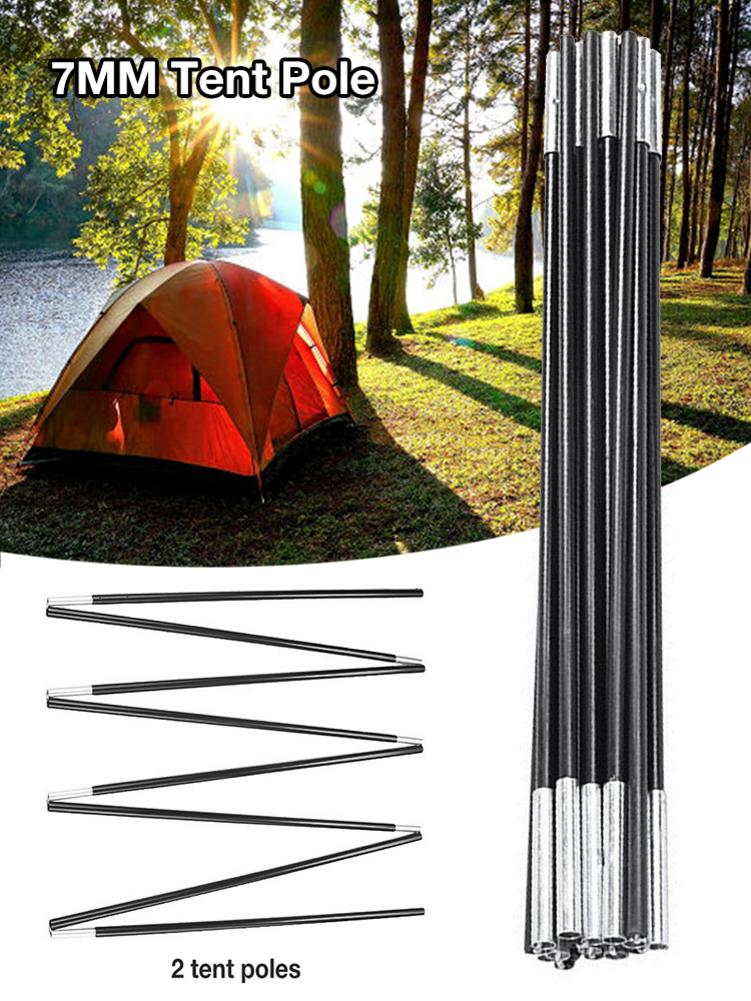 362-369cm Customizable Arc Tent Rod 7001 T6 Replacement Aluminum Tent Poles Accessories For Tents Outdoor Camping image