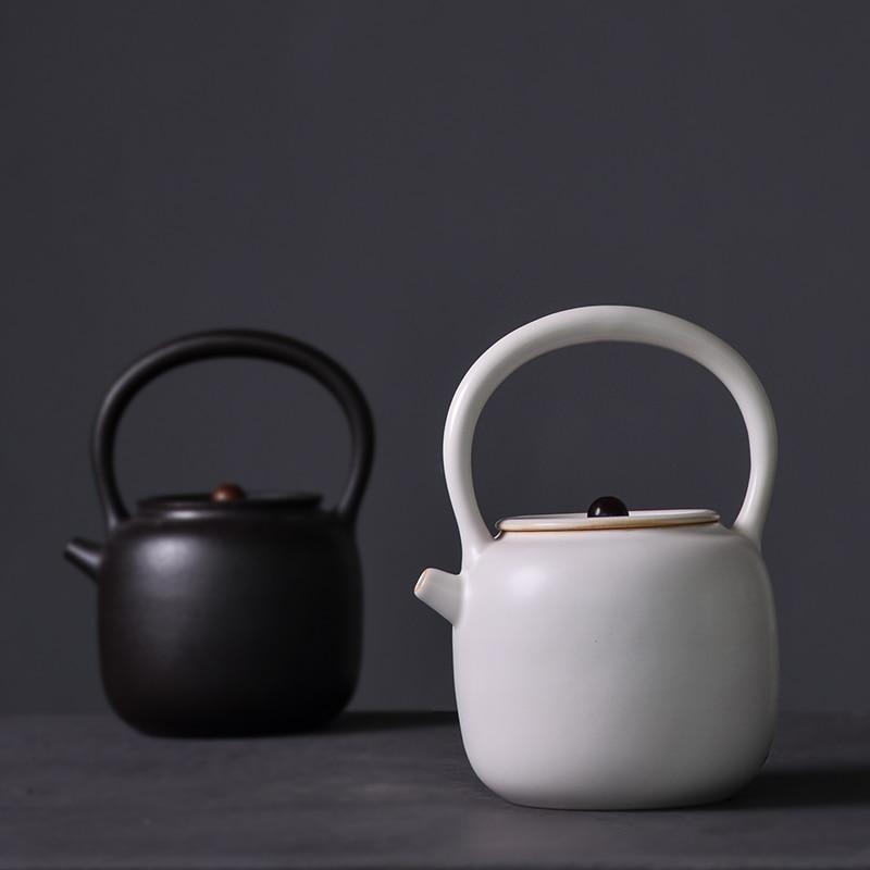 LUWU grande capacité théières en céramique traditionnel chinois Kung Fu thé Pots Drinkware 1000ml