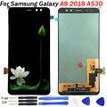Для Samsung Galaxy A8 2018 дисплей A530F LCD сенсорный экран дигитайзер сборка бесплатные инструменты incell LCD A530 для Samsung a8 дисплей
