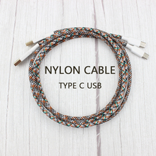 Nylon Cable Wire Mechanical Keyboard GH60 USB Cable Type-c USB  For Poker 2 GH60 Xd64 Xd84 Xd96 Tada68 Keyboard Kit DIY 0.73m цены