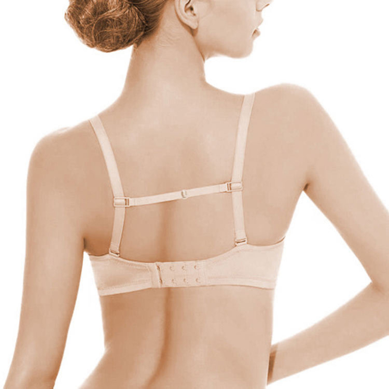 Women Ladies Anti Slip Bra Strap Double-shoulder Female Holder Buckle Belt With Back Hasp All Match Invisible Elastic Straps