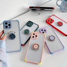 With Ring Camera Protection Phone Case For OPPO Realme 8 7 7i 6i 5i 6 5 6S 5S GT V11 V15 V5 C 21 20 17 15 12 2 Matte Back Cover
