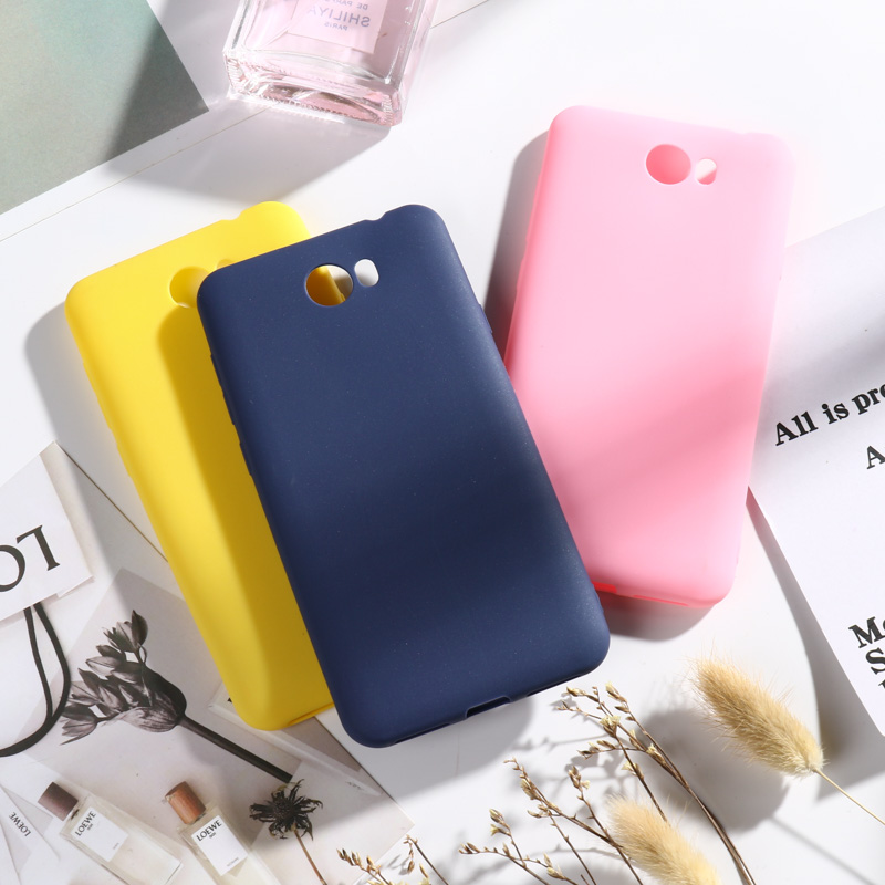 Candy Color Case For <font><b>Huawei</b></font> Y5 II Y5II Y5 2 Honor 5A Case 5.5'' Candy Silicone Cover For <font><b>Huawei</b></font> Honor 5A LYO-L21 <font><b>CUN</b></font>-<font><b>U29</b></font> Coque image