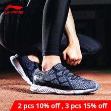 Li ning, zapatillas de correr para hombre LN CLOUD III 2018, forro acolchado transpirable, Li Ning, Mono hilo, zapatillas deportivas, zapatillas deportivas ARHN023 XYP665