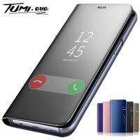 Custodia a specchio per Samsung Galaxy A10 A30 A40 A50 A70 A80 M20 M30 J4 Plus J6 2018 S7 edge S8 S9 Plus S10 Note 10 Pro 8 9 Cover