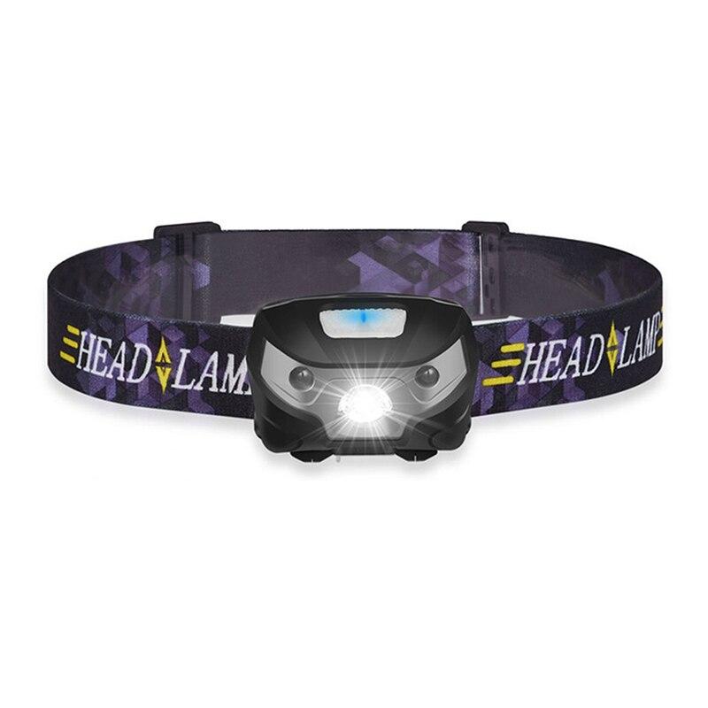 Powerfull Headlamp Rechargeable LED Headlight Body Motion Sensor Night Fishing Head Flashlight Camping Torch Light Lamp With USB