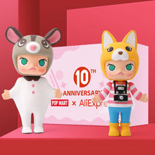 POPMART Molly 12 Chinese Zodiac Toys figure blind box birthday gift free shipping(China)