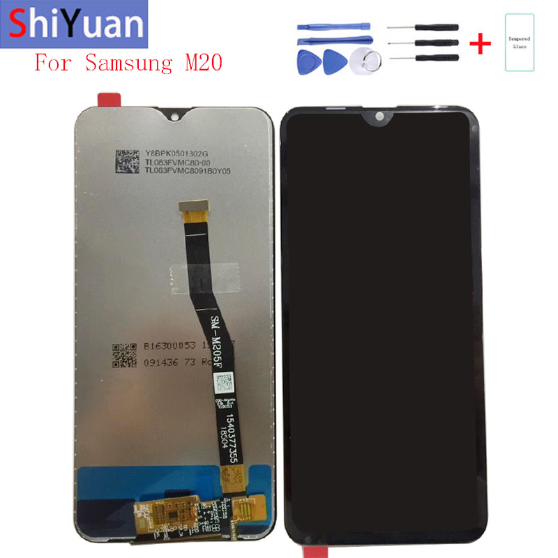 """Original 6.3""""For Samsung M20 LCD Display Touch Screen Digitizer Assembly Replacement For Samsung M20 SM-M205F SM-M205FN SM-M205G"""