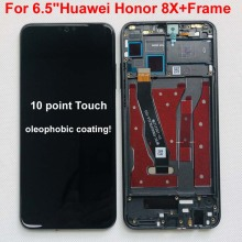 Original Display For 6.5 Huawei Honor 8X JSN AL00 JSN L22 JSN L21 Full LCD DIsplay +Touch Screen Digitizer Assembly With Frame