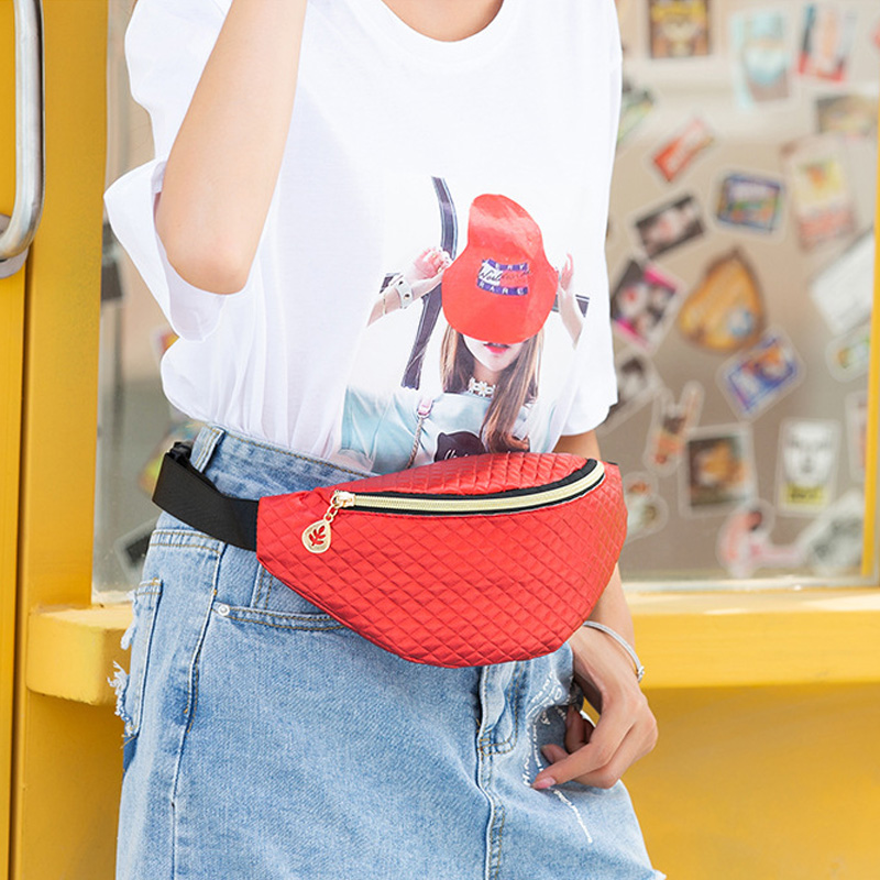 PU Fanny Packs 2019 Woman Snake Chest Pack Waterproof Waist Pack Trend Leather Belt Bag Kidney High Capacity Waist Bag Women
