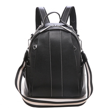 YILIAN2020 leather backpack fashion casual cowhide large capacity women's backpack
