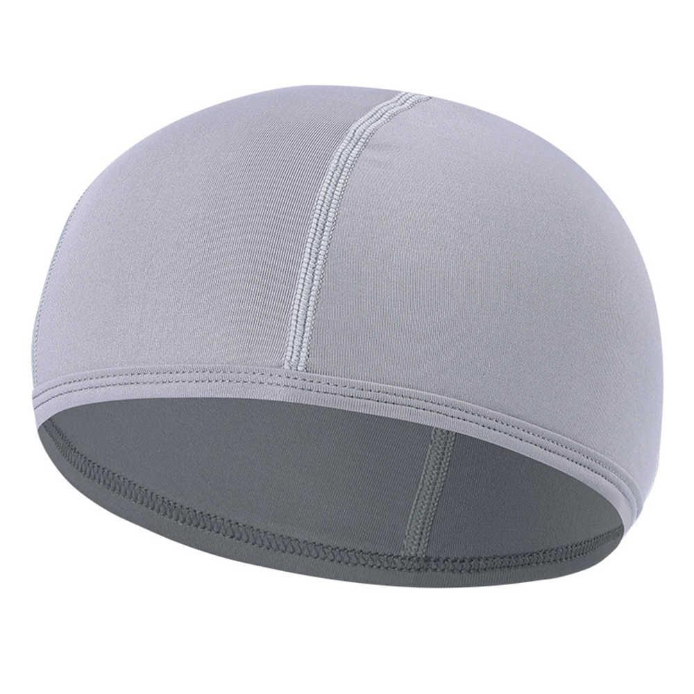 รถจักรยานยนต์ Accessries Quick แห้ง Breathable รถจักรยานยนต์หมวกกันน็อกหมวก Unisex หมวกนิรภัยด้านใน Beanie หมวกสี่ฤดู