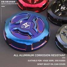חית רוח אופנוע אחורי בלם שמן כובע שונה שמן כוס מגן כיסוי אביזרי עבור VOGE 500R 500DS 650DS