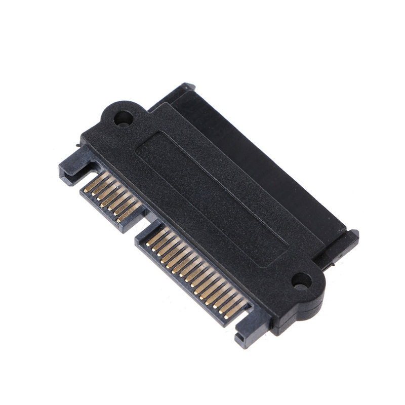 SFF-8482 22 Pin SAS To 7 Pin + 15 Pin SATA Converter Adapter For Hard Disk Drive