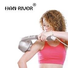 Elektrische 4 Handen Massager Stok Huishoudelijke Trilt Vibrerende Hamer Multifunctionele Full Body Vibrerende Massage Hamer Met Nek
