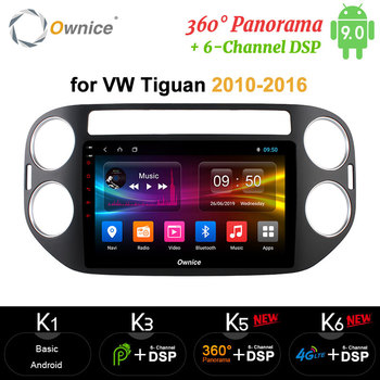Ownice DSP Carplay Car dvd player 2G RAM 32G ROM gps navi for VW tiguan 2010 2011 2012 2013 2014 2015 2016 Android 8.1  8 core
