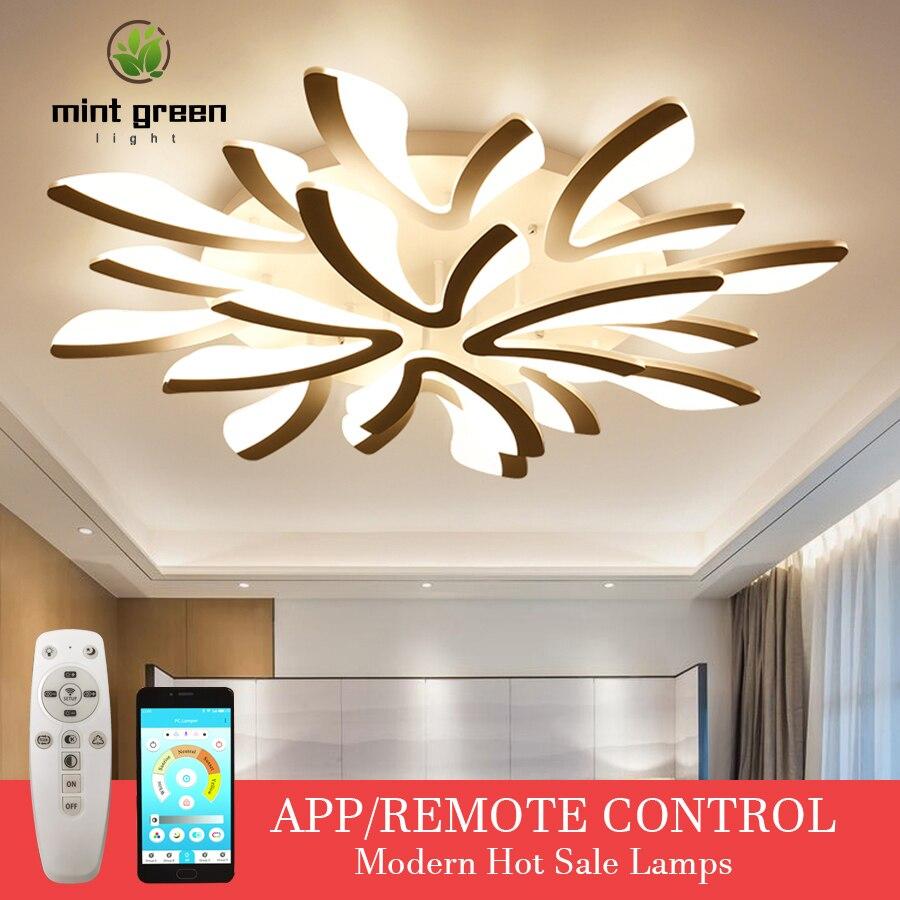 Led Chandelier Ceiling Lamps Modern LED Ceiling Light Living Room Dining Room Bedroom Lustre Lampara Deco Techo Lighting Fixture