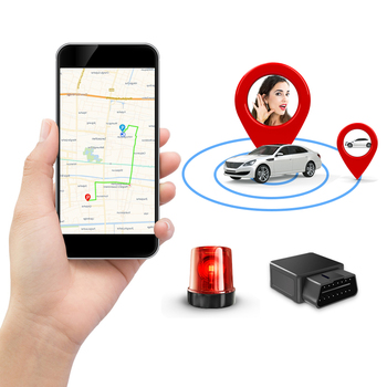 GPS Tracking Locator Premium AODIHENG 2G 3G 4G OBD-Plug Free Installation with Multi-Detection Functions on Free IPMI for Cars image