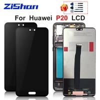 "5.8 ""LCD עבור HUAWEI P20 תצוגת EML L29 EML L22 EML L09 LCD מסך Digitizer תצוגת מסך מגע עבור Huawei P20 מסך הרכבה-במסכי LCD לטלפון נייד מתוך טלפונים סלולריים ותקשורת באתר"