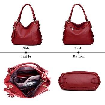 Lanzhixin Leather Shoulder Bag  3