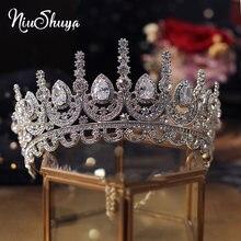 Роскошные тиары и короны niushuya с фианитами принцесса пышное