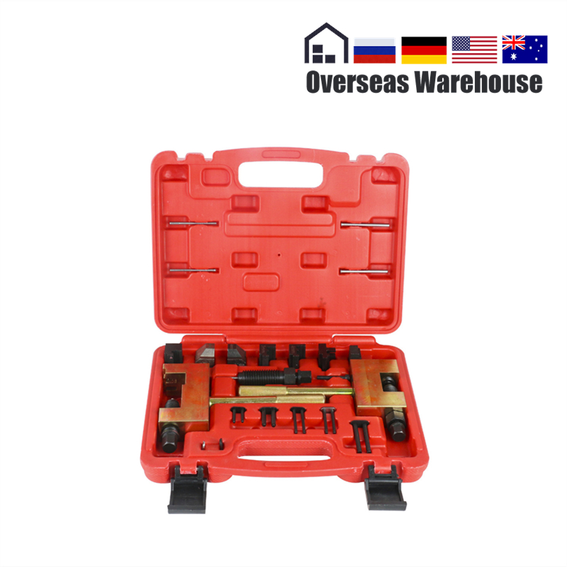 24pcs Engine Timing Chain Removal Installer CHAIN BREAKER For Mercedes Benz Riveting Tool M271 M272 M273 Special Disassembly