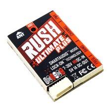 цена на RUSH TANK Plus VTX 5.8G 800mW 2-8S 48CHs Smart Audio Video Transmitter 7-36V AGC MIC for RC FPV Racing Drone